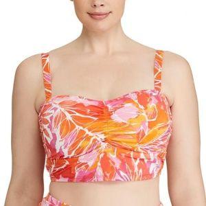 Lauren Ralph Lauren Tropical-Print Bikini Top